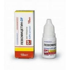 Левомицетин  фл.-кап. 0,25% 10мл (гл.капли)