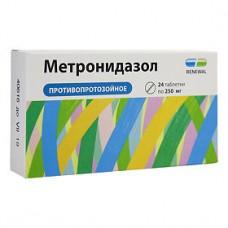 Метронидазол  0.25 г N24 таб.