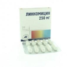 Линкомицин г/х  капс. 250мг №20