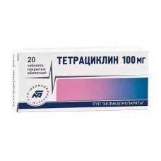 Тетрациклин  таб. п/о 100мг №20